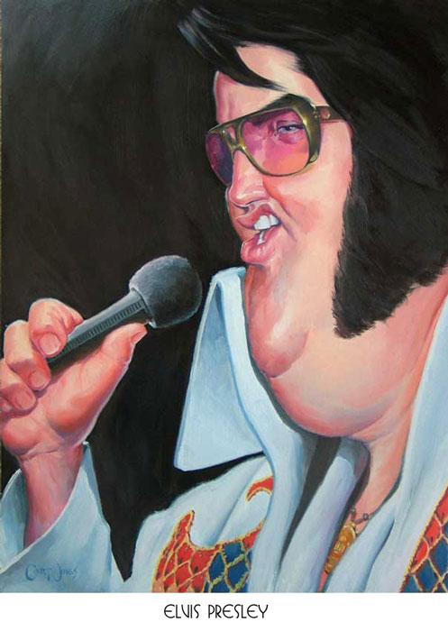 CARICATURES de personnalitées - Page 2 Elvis-10
