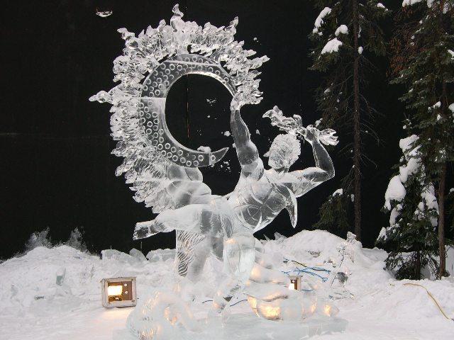 Sculpture de glace Incroy10