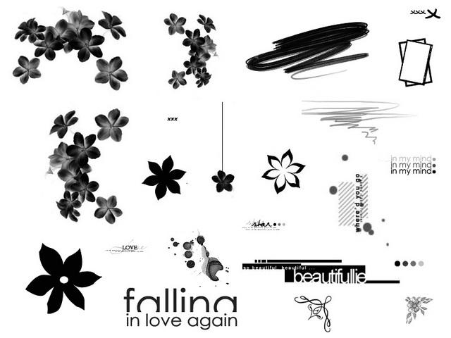 Brushes (et templates) Plaque10