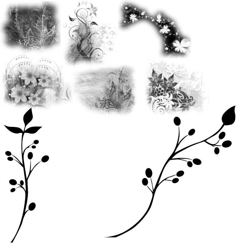 Brushes (et templates) Sansti11