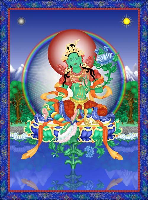 Bouddhisme - Thibet - Tara Tarave10