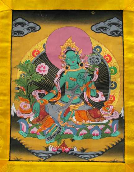 Bouddhisme - Thibet - Tara Tarave11