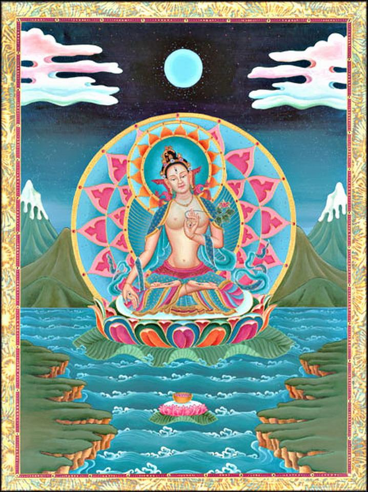 Bouddhisme - Thibet - Tara Whitet10