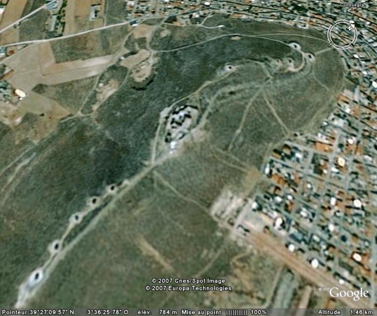 Moulins de Don Quichotte à Consuegra - Espagne Ge_mou11