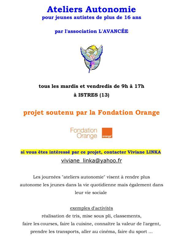 istres(13) : projet pour les + 16 ans  ( autisme) Atelie10