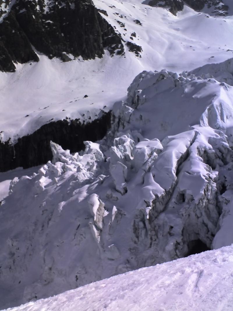 Piste Point de vue/ Chamonix 3275 11-04-10