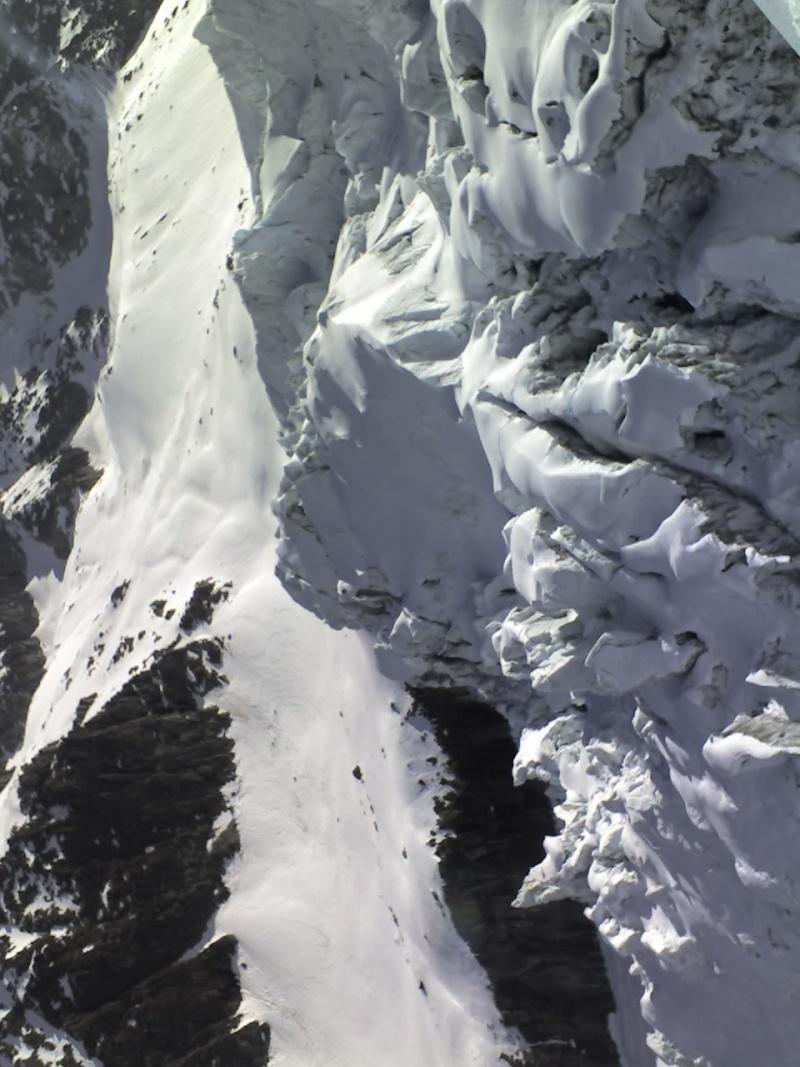 Piste Point de vue/ Chamonix 3275 11-04-11