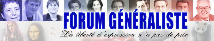 Forum généraliste