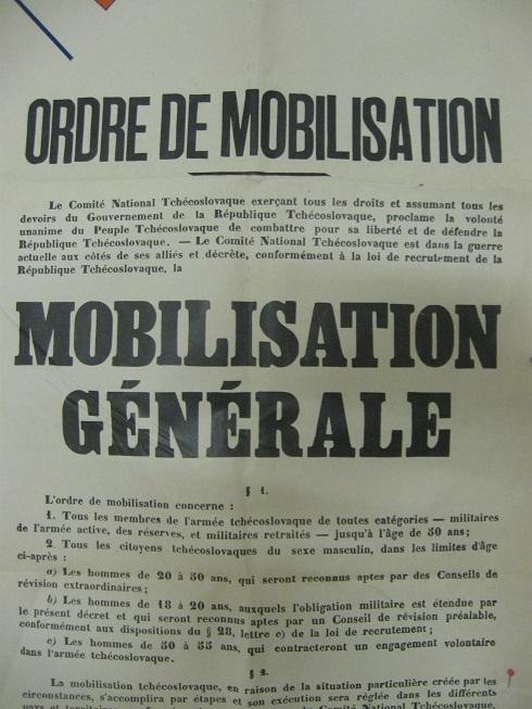 Affiches pour la constitution de l'Armée Tchécoslovaque en France Img_4636