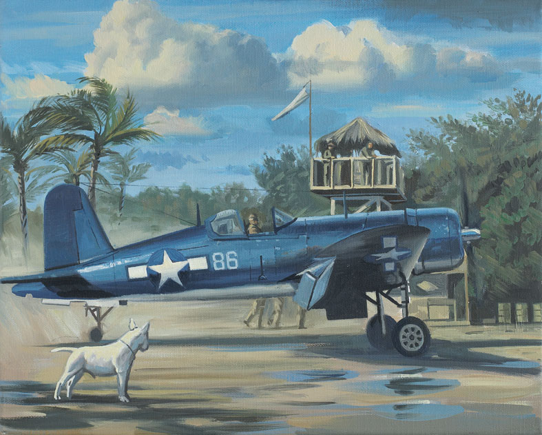 Pappy Boyington Tryptique Trypti11