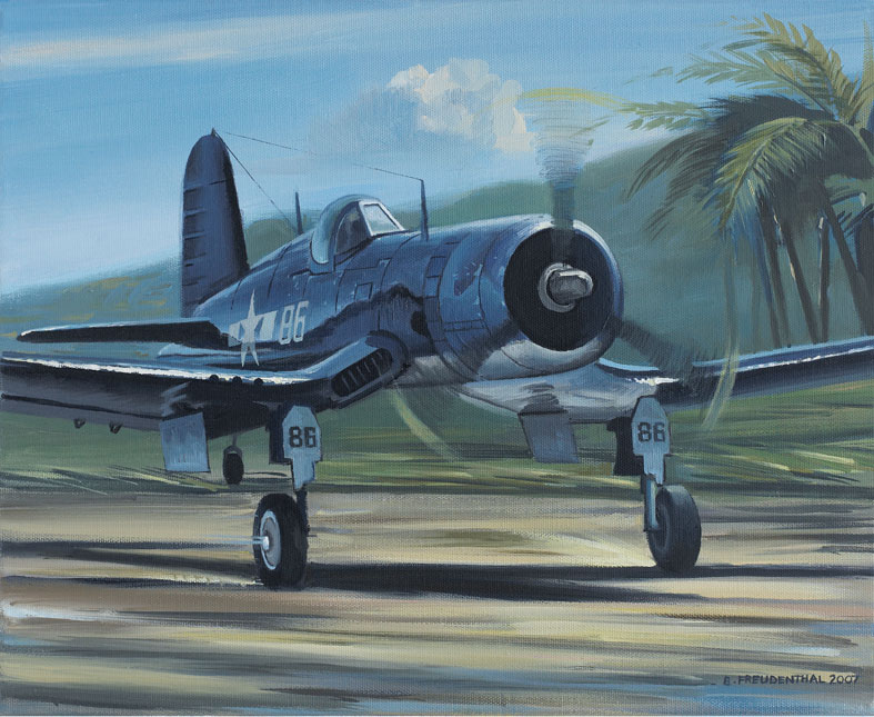 Pappy Boyington Tryptique Trypti12