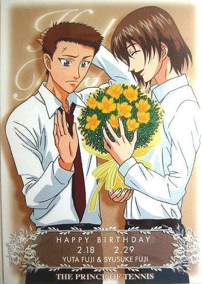 """Cartes """"Happy Birthday"""" avec des bouquets Fleurs11"""