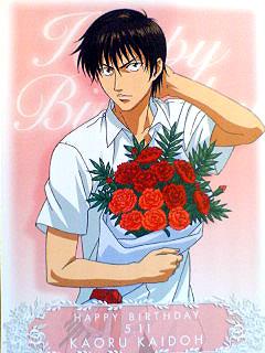 """Cartes """"Happy Birthday"""" avec des bouquets Fleurs13"""