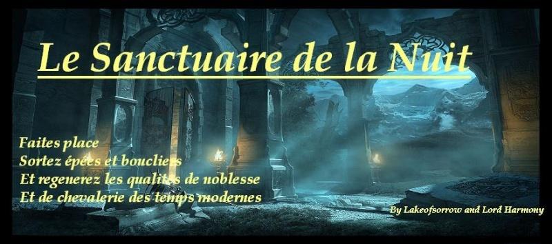 Le sanctuaire de la nuit