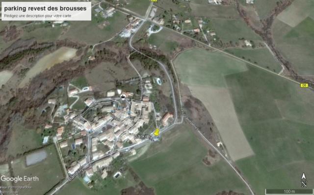 Et une nouvelle boucle de Revest des Brousses  à Aubenas  Parkin17