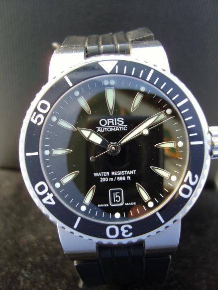 Première montre pour moins de 450 euros Oris_210