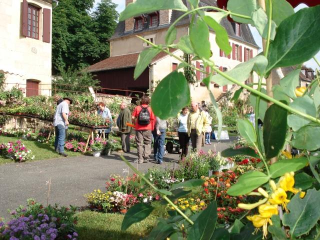 Apremont sur Allier , fête des plantes Apremo11