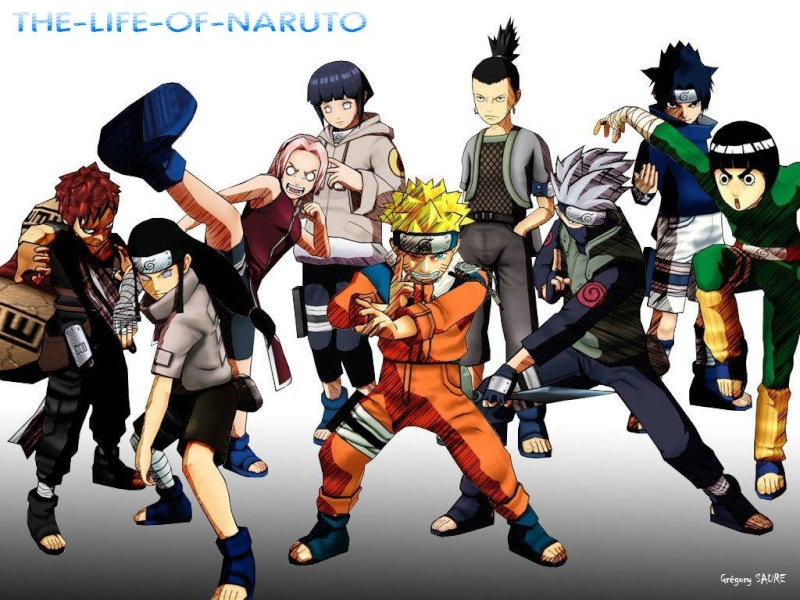 the life of Naruto