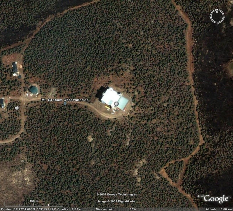 Observatoires astronomiques vus avec Google Earth - Page 2 Observ11