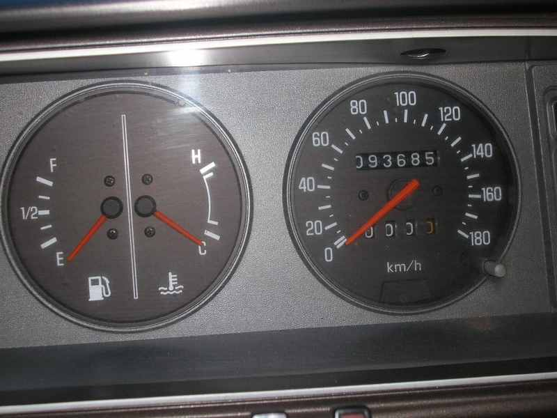 Ma Datsun VIOLET 140J de 1981 Datsun28