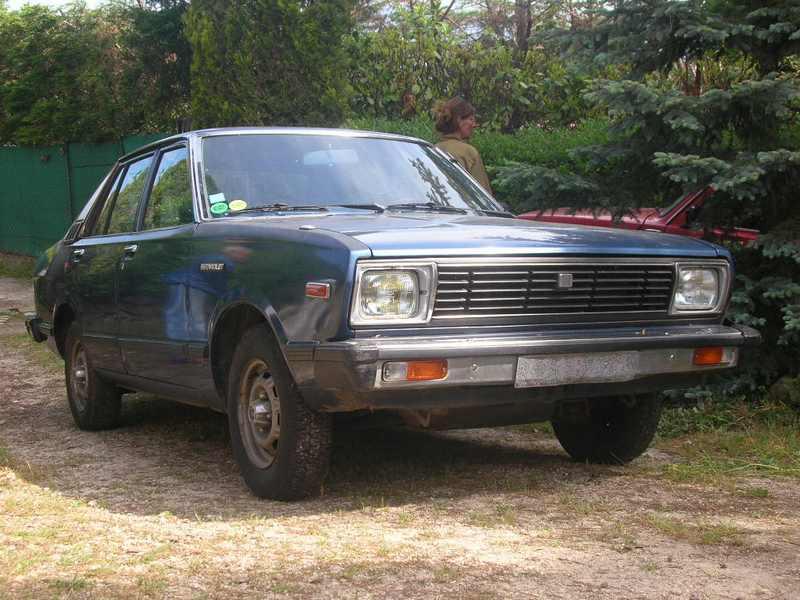 Ma Datsun VIOLET 140J de 1981 Datsun29