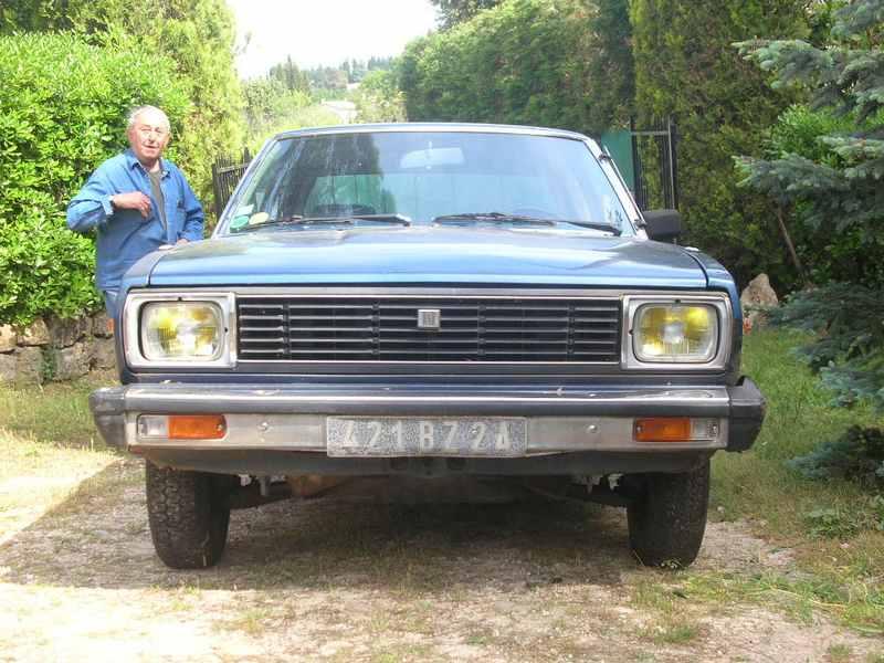 Ma Datsun VIOLET 140J de 1981 Datsun30