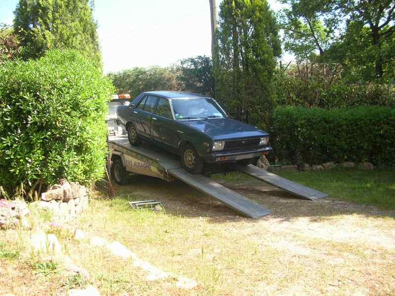 Ma Datsun VIOLET 140J de 1981 Datsun33