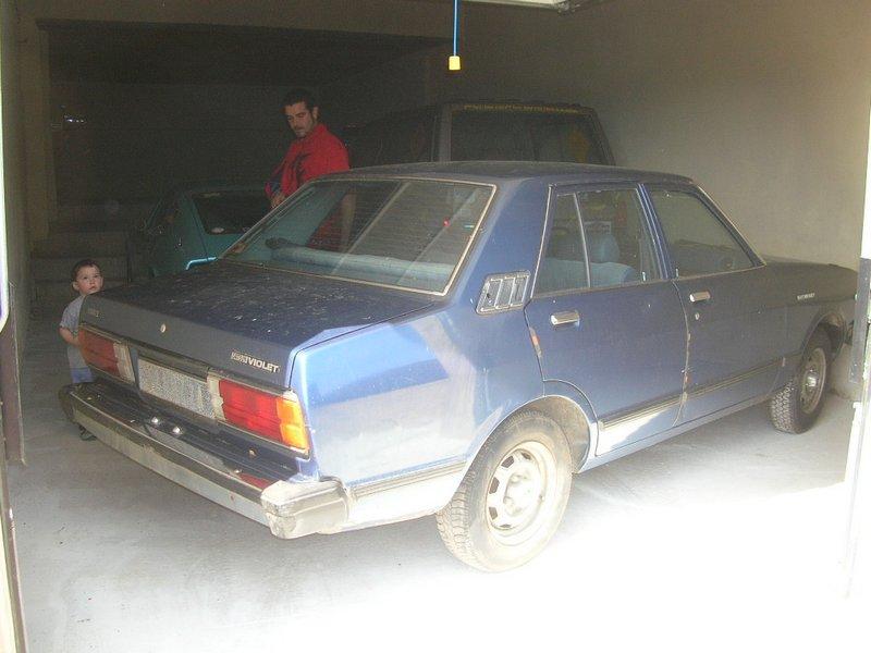 Ma Datsun VIOLET 140J de 1981 Datsun36