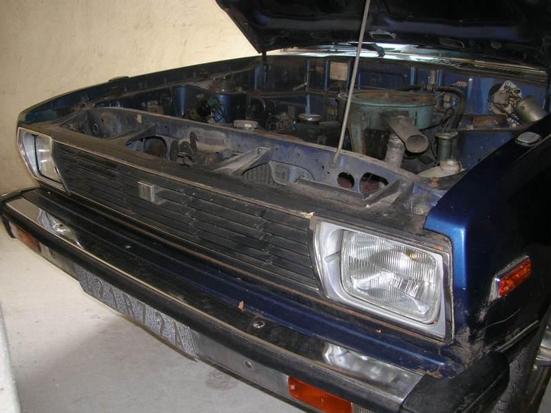 Ma Datsun VIOLET 140J de 1981 Datsun41