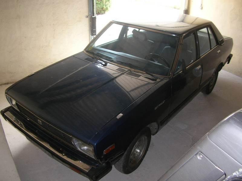 Ma Datsun VIOLET 140J de 1981 Datsun42