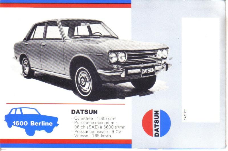 FANS de DATSUNs c'est pour vous Datsun46
