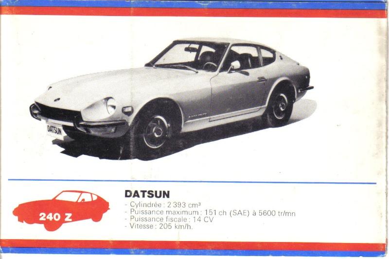 FANS de DATSUNs c'est pour vous Datsun48