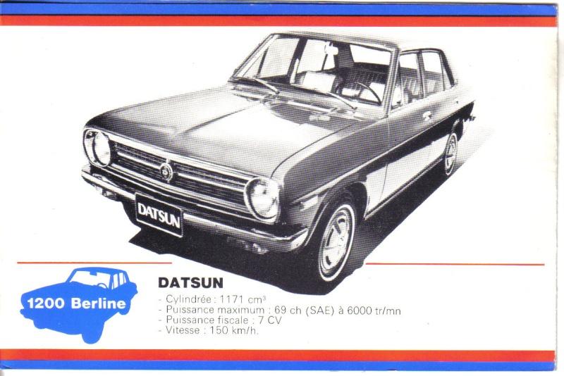 topic officiel DATSUN 1200 = PL 110 [SUNNY] Datsun49