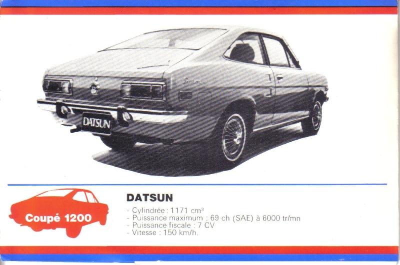 topic officiel DATSUN 1200 = PL 110 [SUNNY] Datsun50