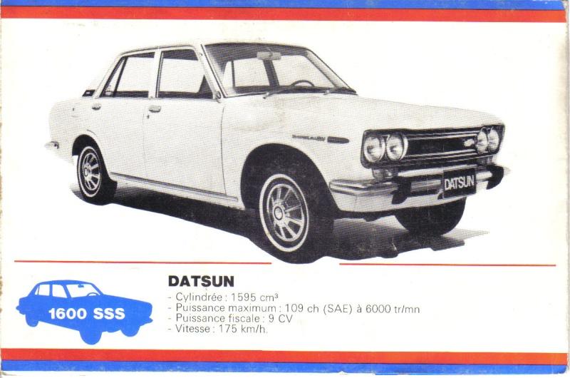 TOPIC OFFICIEL DATSUN 510... Voiture mythique! Datsun56