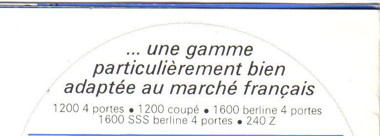 TOPIC OFFICIEL DATSUN 510... Voiture mythique! Slogan12