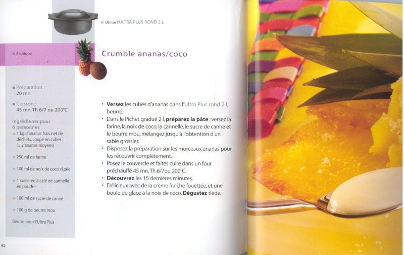 Crumble ananas / coco Crumbl10