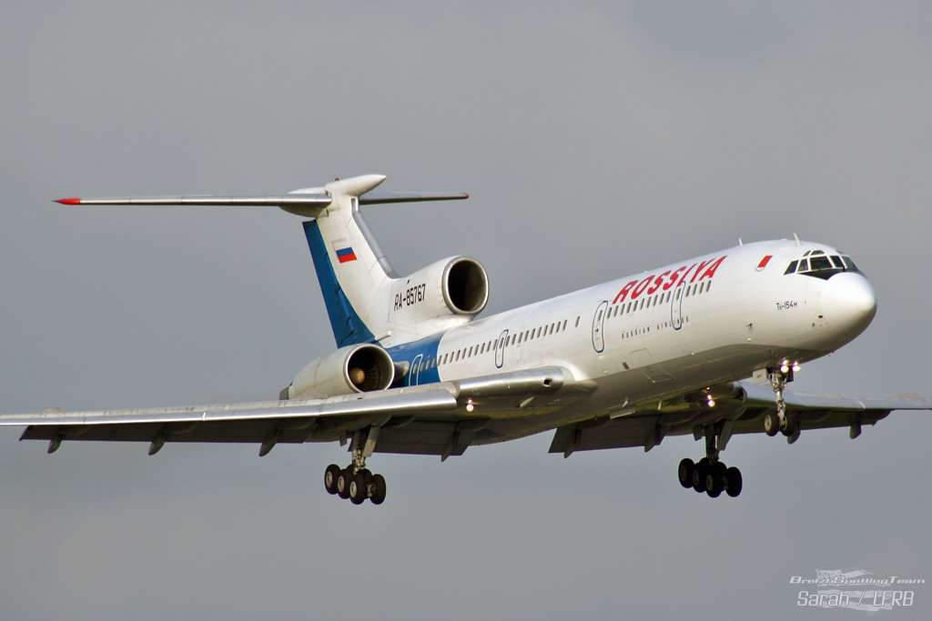 Tu-154m Rossiya airlines Ra-85710