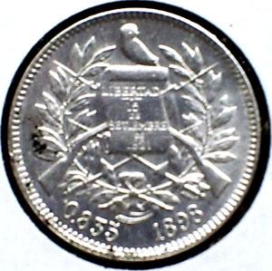 2 reales de Guatemala (1898 d.C) Dos_re11