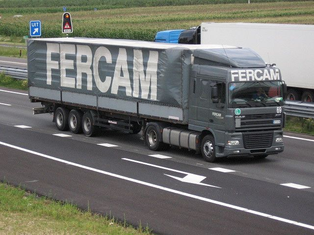 Transports Fercam (I) Daf-xf10