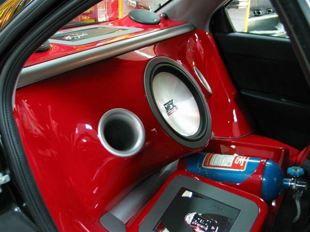Alfa 156 Customised Rear Instal10