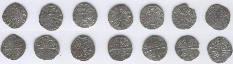Dineros de Jaime II acuñados en Barcelona Dinero10
