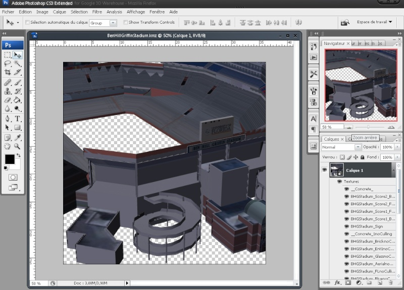 Photoshop CS3 Extended Plug-In for Google 3D Warehouse 210