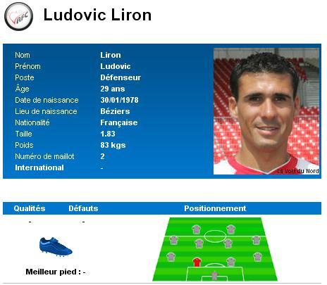 Effectif Liron10