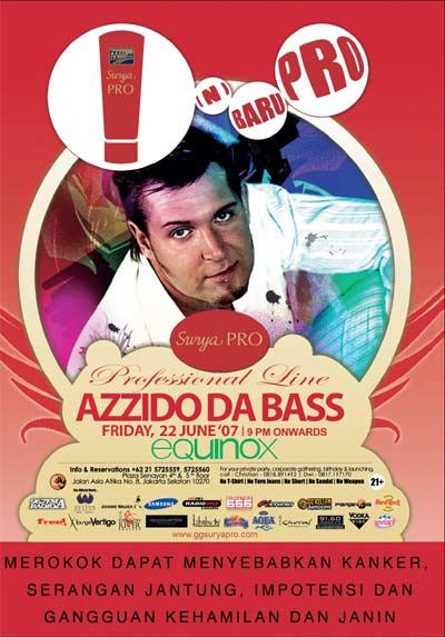 Azzido Da Bass@ Equinox, X2, Jakarta Azzido10
