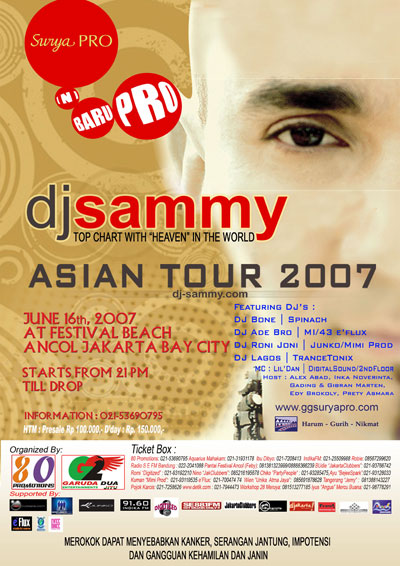 DJ SAMMY ASIAN TOUR 2007 B461_s10