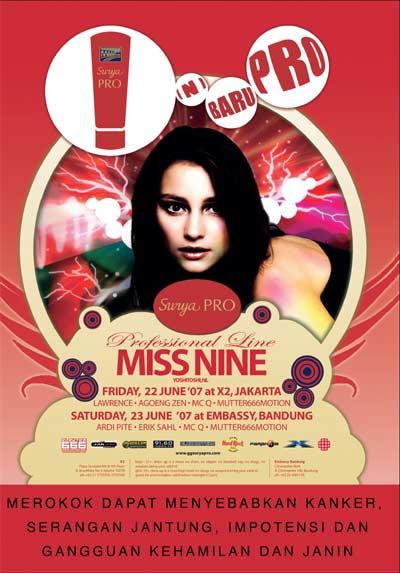 Miss Nine@X2 Jakarta Missni10