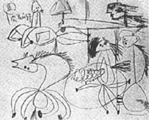 """قصة""""الجورنييكا""""  لوحة بيكاسو 21575110"""
