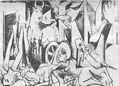 """قصة""""الجورنييكا""""  لوحة بيكاسو 41575110"""