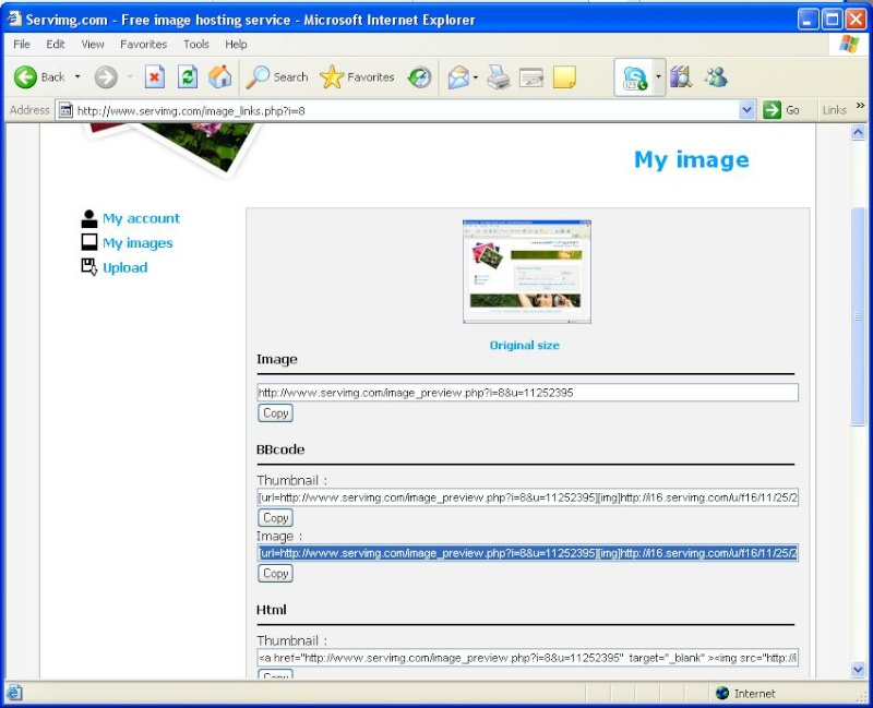 How to post a picture Tut210